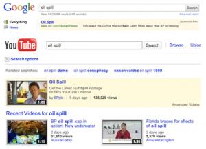 Oil Spoil YouTube Google