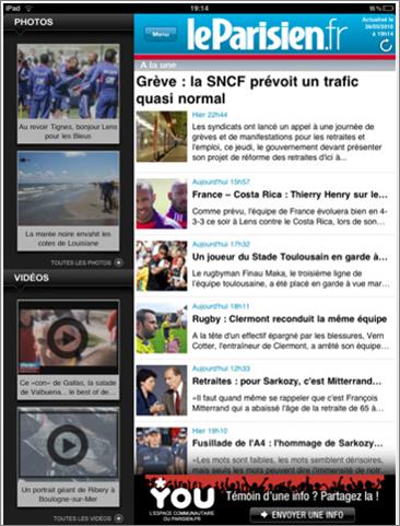 Web-App-Le-parisien-iPad