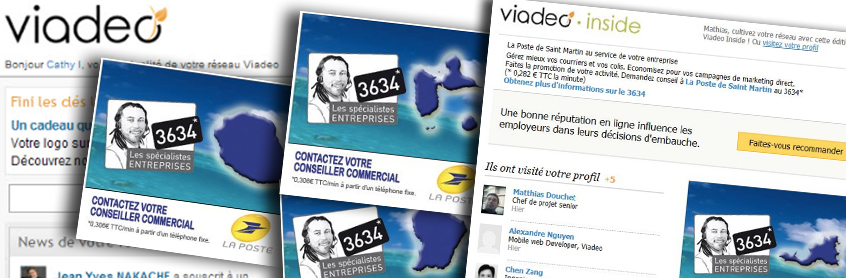 Marketing LinkedIn, Marketing Viadeo, Marketing réseaux sociaux professionnels