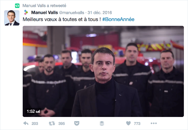 Voeux Twitter Manuel Valls