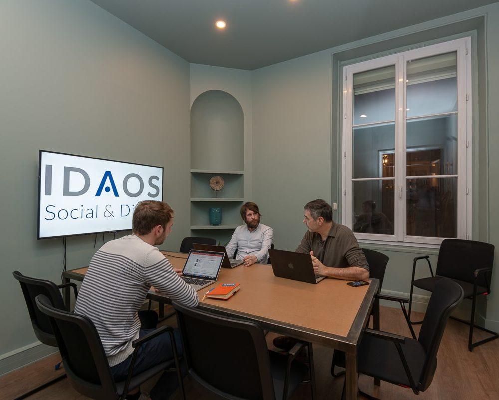La salle de formation Idaos