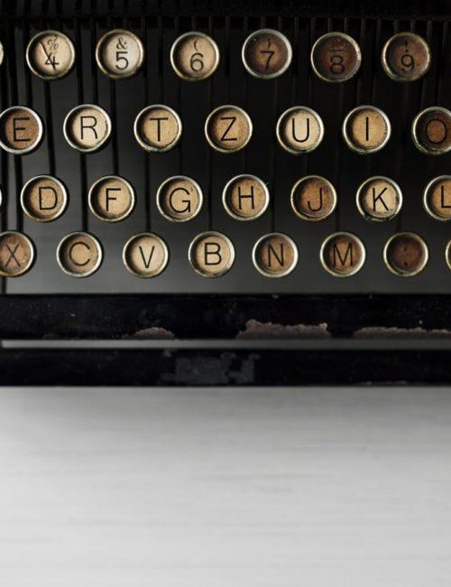 Clavier machine à écrire